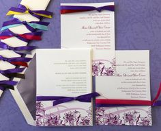A New Trend in Wedding Colors: Passionate for Purple