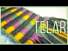 Gift Bows, Loom Weaving, Fiber Art, Knitted Hats, Textiles, Knitting, Simple, Youtube, Projects