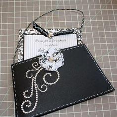 purse invite template