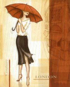 Pioggia di Londra - Cross stitch pattern formato pdf