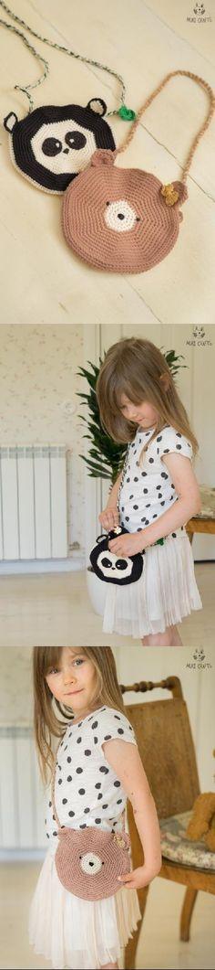 Axel circle bag crochet pattern