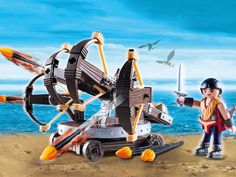 #transformer dreamworks dragons playmobil playset - eret with four shot ballista