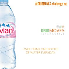 @GridMoves Follow @GRIDMOVES (Tum, Twit & Insta) I will drink one bottle of water every day, evian  - NEW Years Resolutions, 2014, Goals, Dreams, Wishes, To Do LIST, 2014 goals #GRIDMOVES