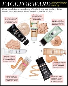 bb cream chart review ....  One of the important characteristics of BB creams is that you get all-in-one results. Most BB creams have makeup, sunscreen, and skin-care functions. Once it is applied, it evens out the skin tone, improves the skin texture, offers anti-aging benefits and protects the skin from UV sunlight and pollutions in the air. To top it off, these heavy-duty benefits are all packed into lightweight formulas; wearing a BB Cream feels natural on the skin.