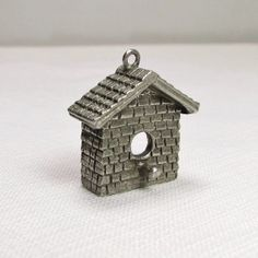 For Any Bird Lover: Clift Pewter Bird House Charm