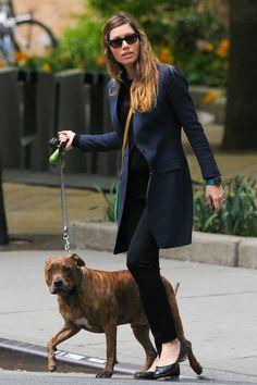 Jessica Biel in NYC