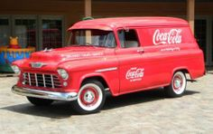 I always wanted one of these - a Chevy panel truck, not a Coke truck! Coca Cola Vintage, Coca Cola Ad, Always Coca Cola, World Of Coca Cola, Vw Vintage, Vintage Trucks, Pepsi, Vintage Ideas, Chevrolet 3100