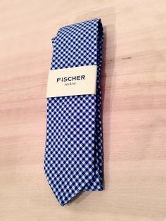 2014 GQ x Northern Grade   Fischer Clothing — blue cotton tie
