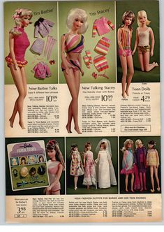 Light Pink Doll Stockings for vintage Barbie Francie and Stacey