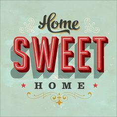 "Pro-Art gla928d Wandbild Glas-Art ""Home Sweet Home"", 20 x 20 cm: Amazon.de: Küche & Haushalt"