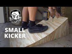 Portable kicker ramp for BMX or MTB - YouTube