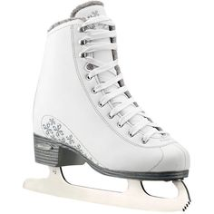 Bladerunner Ladies Aurora Ice Figure Skate ($75) ❤ liked on Polyvore featuring shoes and skates