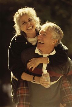 I just think its the cutest thing when you see elderly people still in love! <3