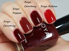 Lacquer or Leave Her!: Zoya Urban Grunge Cremes Comparison Part 3: The Final Chapter