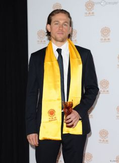Charlie Hunnam captured the attention of audiences and critics in his role as Jackson 'Jax' Teller in FX's highest rated drama in history, Sons of Anarchy. He is being recognized as the Best Global Emerging Actor at the Huading Film Awards.