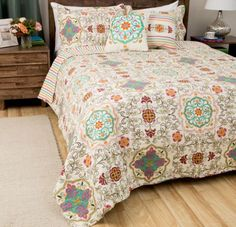 Fashions Esprit Spice 3-Piece Quilt Set Home Bedroom Decor High Quality New #TommyBahama #Holiday