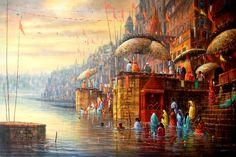 tulika art gallery... Benaras