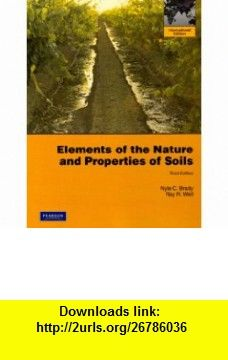 Elements Of The Nature And Properties Of Soils Pdf