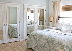 Closet Doors- The perfect door for our master bedroom, replace the sliding doors!