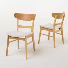 Helen Mid Century Modern Dining Chair (Set of 2)