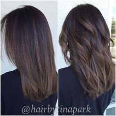 The 25+ best Balayage straight ideas on Pinterest | Balayage straight hair, Ombre medium hair and Straight ombre hair