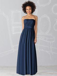 After Six Bridesmaid Dress 6621    Fabric: Lux Chiffon purchase swatch