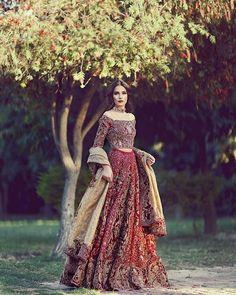 Traditional breathtaking jora from #farah&fatima latest Couture collection devoted to grandeur. #Farah&Fatima #bridal #fashion #couture #loveforfashion #redbrides #weddingseason