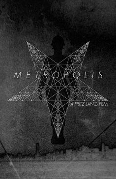 Metropolis, directed by Fritz Lang, 1927 Metropolis Poster, Metropolis Fritz Lang, Metropolis 1927, Fritz Lang Film, Silent Film Stars, Minimal Movie Posters, Book Images, Horror Films, Retro Futurism