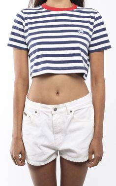 Vintage Polo Crop Tee | Frankie Collective · Polo Ralph LaurenCrop ...
