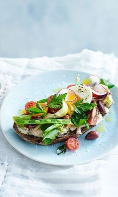 25 scrumptious and unique toast concepts to attempt completely - Brunch Easy Cooking, Healthy Cooking, Bruschetta, Tartine Recipe, Gourmet Recipes, Healthy Recipes, Bistro Food, Sandwiches, Latest Recipe