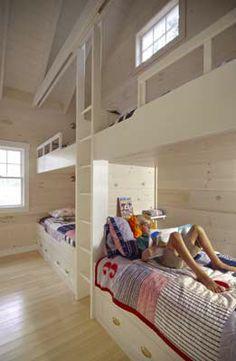 AuBergewohnlich Bunk House   Bunkbeds Slaapkamer Zolder, Girls Bedroom, Stapelbed Kamers,  Slaapkamer Meubilair,
