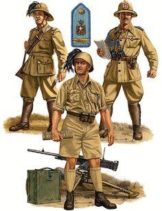 Uniforme Bersaglieri ad El Alamein 2 WW.