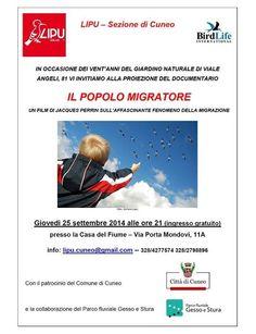 #comunedicuneo Per festeggiare i 20 anni del Giardino Naturale LIPU di Cuneo... @ParcoGessoStura