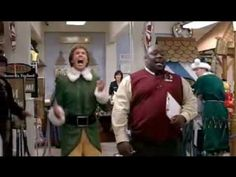"""""""SANTA! I know him!!""""  (I'm not a big Will Ferrell fan, but I think this movie is so sweet and he's perfect in the role.)"""