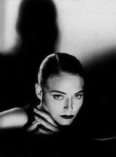 Jodie Foster by Helmut Newton, 1987.