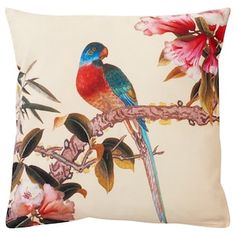 IKEA KÅLFLY Kissenbezug Cushion Pads, Cushion Covers, Recycling, Rooster, Moose Art, Cushions, Colours, Pattern, Painting