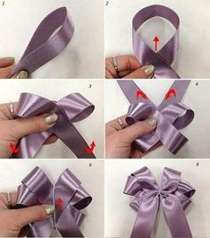 carnival sunglasses / óculos d Diy Hair Bows, Diy Bow, Diy Ribbon, Ribbon Crafts, Ribbon Bows, Ribbons, Gift Wrapping Bows, Creative Gift Wrapping, Gift Bows