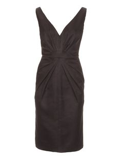 V Neck Cocktail Dress with Stardust