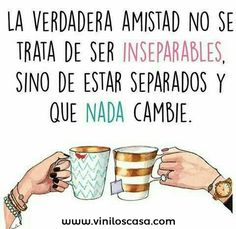 Image about friends in frases by A on We Heart It The Words, More Than Words, Great Quotes, Me Quotes, Inspirational Quotes, Friend Quotes, Famous Quotes, Whatsapp Videos, Spanish Quotes