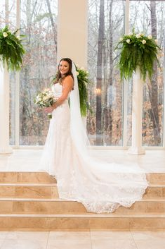 Judy looks so elegant in her wedding dress at Ashton Gardens in Sugar Hill, Georgia. This wedding was gorgeous and such a fun time! This venue has beautiful architecture and is an incredible place to get married at! Places To Get Married, Got Married, Ashton Gardens, Sugar Hill, Unique Wedding Venues, Chapel Wedding, Fun Time, Beautiful Architecture, Good Times
