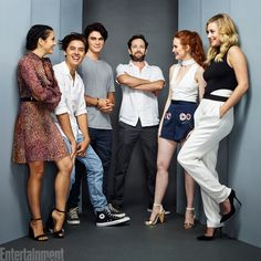 Team #Riverdale #EWComicCon