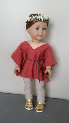 American Girl Doll Crafts and Fun!: Craft: Make a No Sew Peasant Top for Your Doll