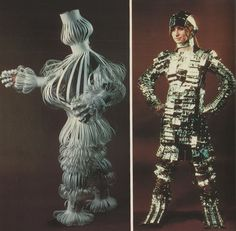 "From ""Making Paper Costumes"" by Janet Boyes, 1970s."