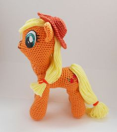 Ravelry: My Little Pony amigurumi pattern by Rianne de Kok