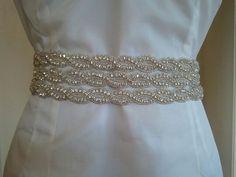 Items similar to Bridal Belt, Wedding belt, Sash - Crystal Rhinestone Belt - Style on Etsy Wedding Sash Belt, Wedding Belts, Wedding Stuff, Wedding Dresses, Rhinestone Belt, Crystal Rhinestone, Bridal Belts, Bliss, Crafty