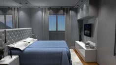 Projetos de Quartos de Casal - Projetos de Móveis para Dormitório de Casal - Decoração de Quarto de Casal - Modelos de Dormitório de Casal,