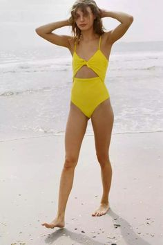 Yellow Swim Suit