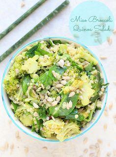 Salad Recipe: Miso Broccoli & Quinoa Salad