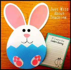 "Just Wild About Teaching: ""Springing"" For Easter Craft!"