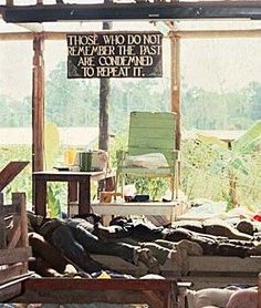 "It's almost like they were prewarned. ""Those who do not remember the past are condemned to repeat it"" Picture from the 1978 Jonestown Massacre Jonestown Massacre, Famous Murders, Sweat Lodge, Criminal Minds, Serial Killers, True Crime, The Past, In This Moment, Temple"